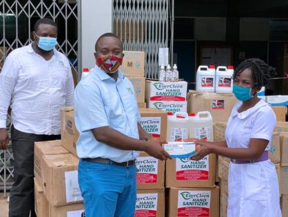 ZEN supports Effia-Nkwanta Regional Hospital with essential healthcare supplies