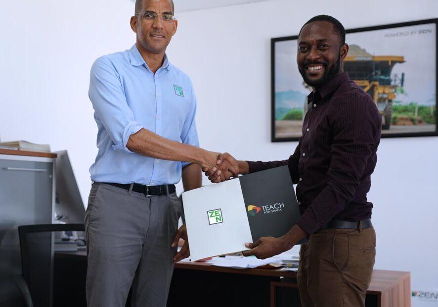 ZEN Petroleum partners with Lead for Ghana for education development