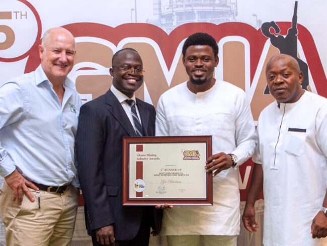 ZEN recognised at the Ghana Mining Industry Awards