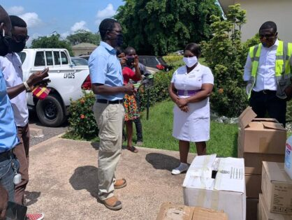 ZEN contributes to COVID-19 preparedness with donations to Tarkwa Municipal Hospital