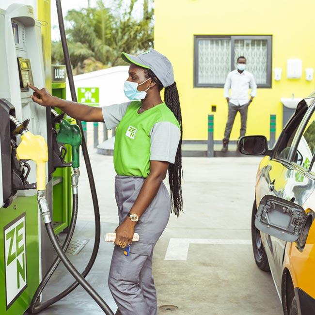 ZEN Station Fuel Attendant